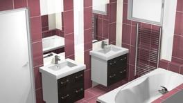 Grafický návrh koupelny